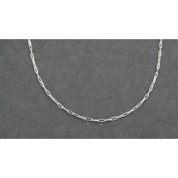 Cadena de plata forzada