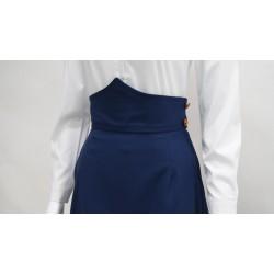 Falda amazona azul