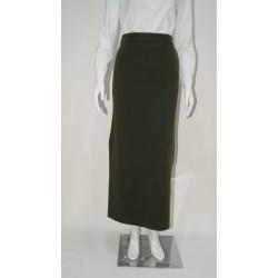 Falda de punto elástico