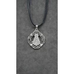 Medalla calada Virgen del Rocio