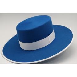 Sombrero lana color azafata