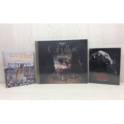 Pack colección 3 Libros + Cds + transporte gratis incluido