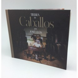 Libro Disco Jose leon ( Tierra de caballos)  Doble cd 2 discos novedad 2021