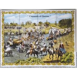 Mosaico Quema