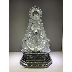 Virgen Resina plateada