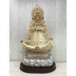 Virgen imitación porcelana