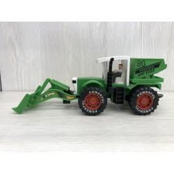 Tractor excavadora fricción