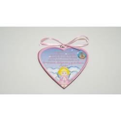 Medalla cuna corazón