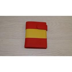 Cartera bandera España vertical